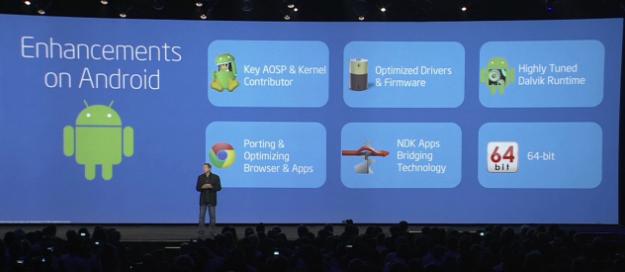 Android 64 bitni procesor Intel