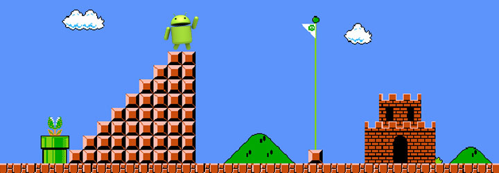 android super mario