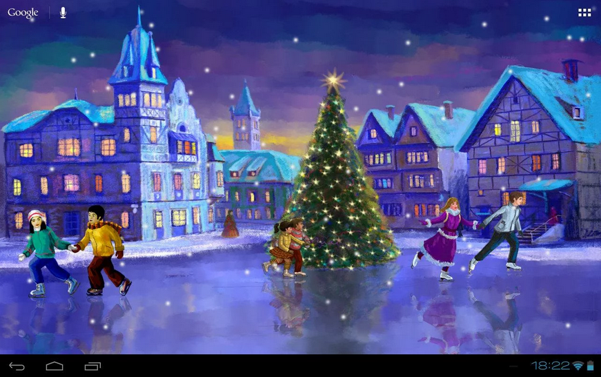 2014-12-13 18_12_45-Christmas Rink Live Wallpaper - Android aplikacije na Google Playu