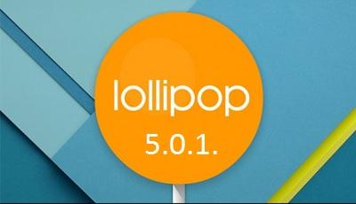 lollipop 5.0.1.