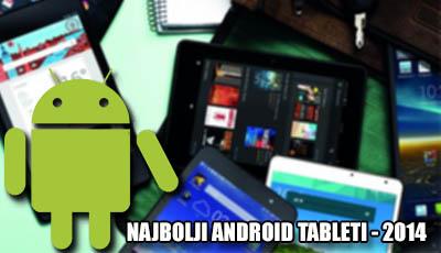 najbolji android tableti 2014