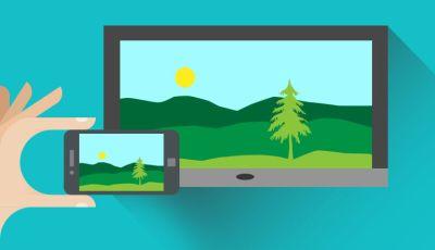 Kako spojiti mobitle na tv
