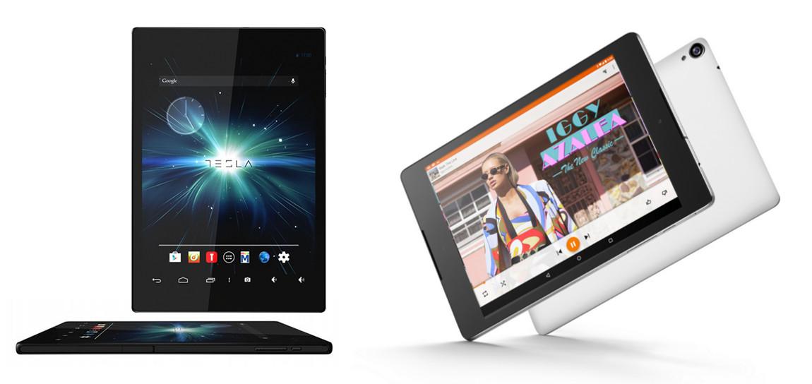 Nexus 9 i Tesla 7.85