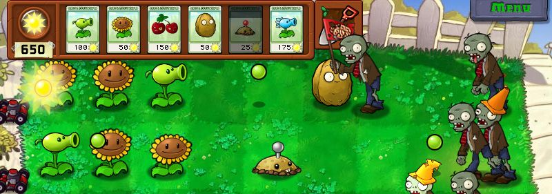 Plants vs zombies original android