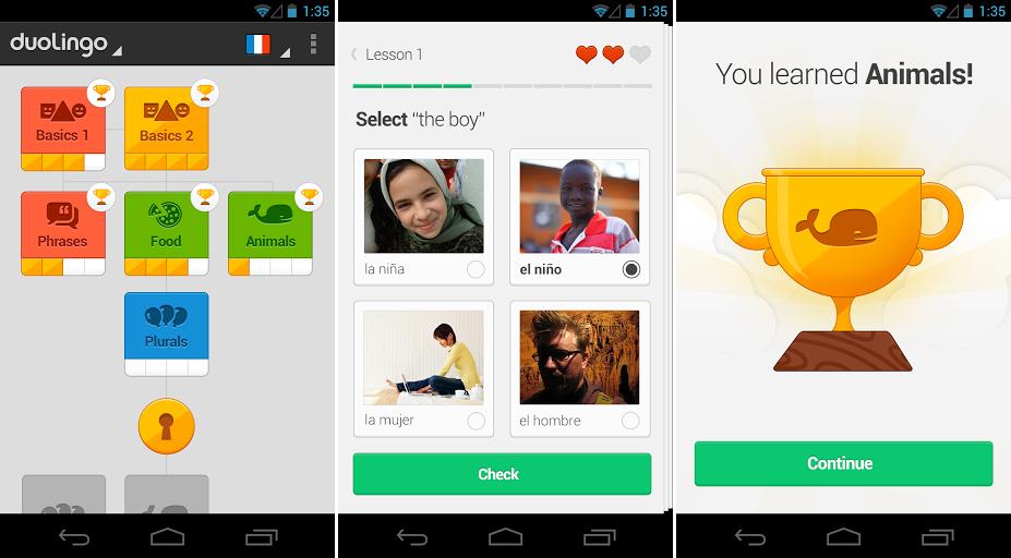 aplikacija za učenje engleskog jezika