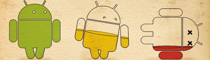 Android baterija mobitel
