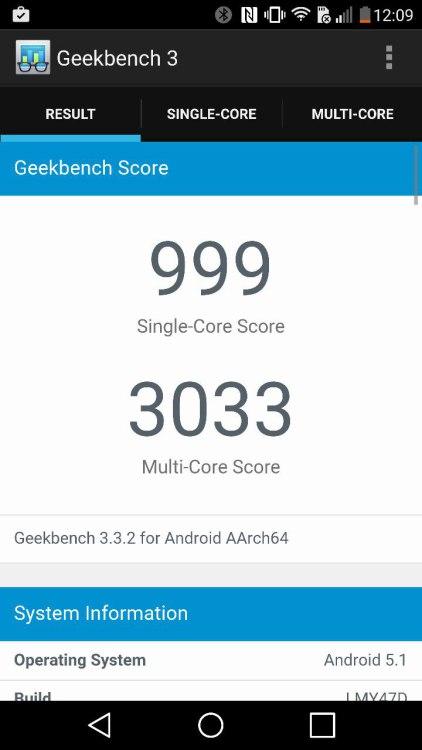 LG g4 geekbench 3