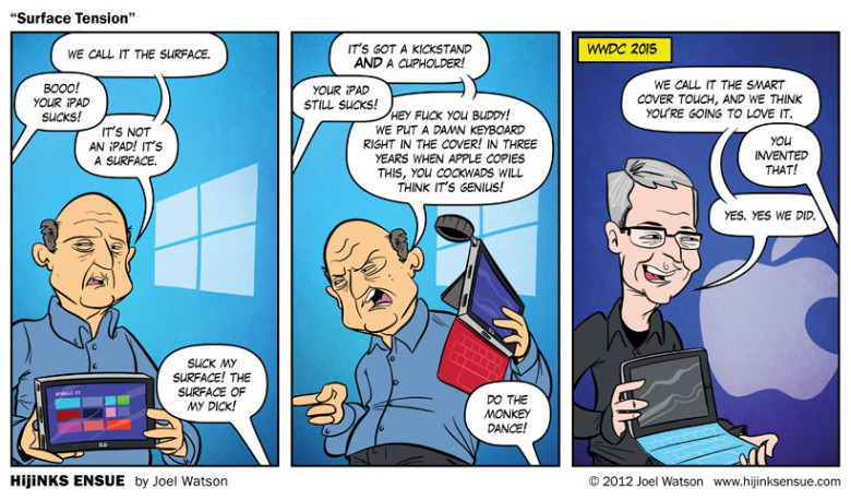 iPad pro vs surface