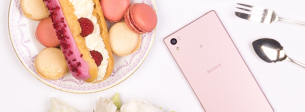 Sony Xperia Z5 pink ruzicasta