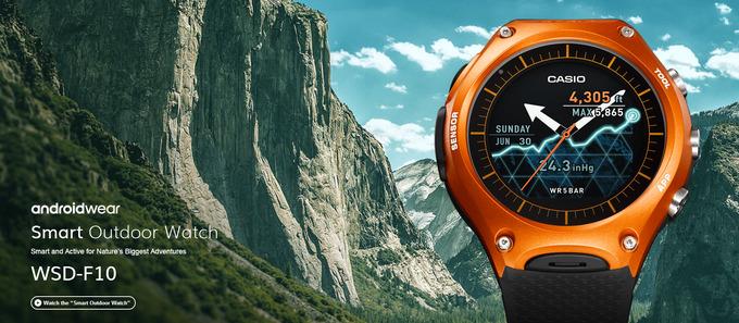 Casio Smart Outdoor Watch WSDF10
