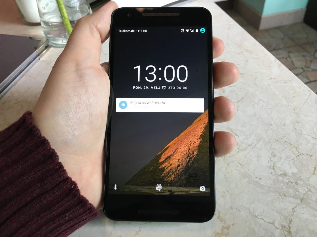 nexus 5x ekran