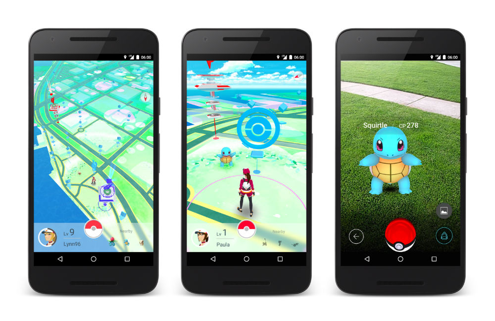 pokemon go za android