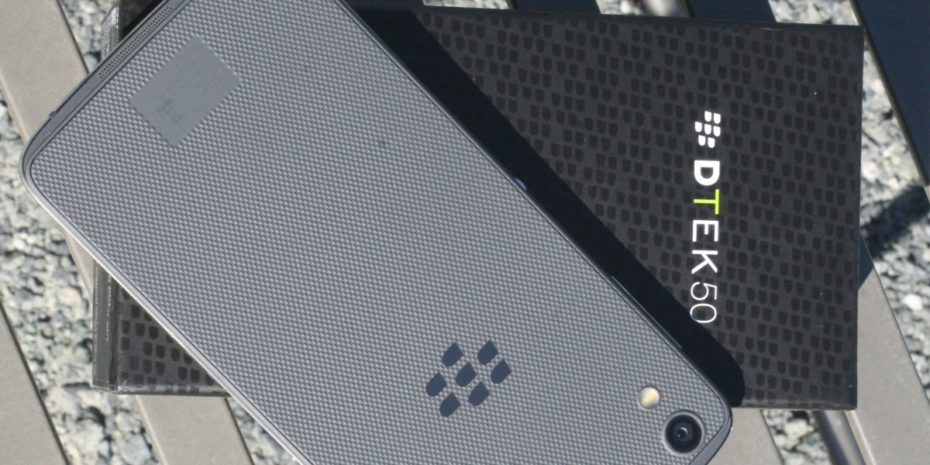 blackberry dtek50 android