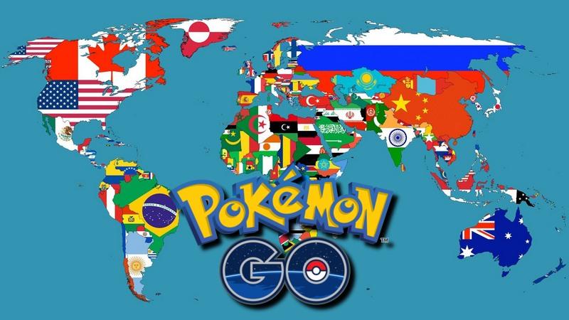 pokemon go svijet