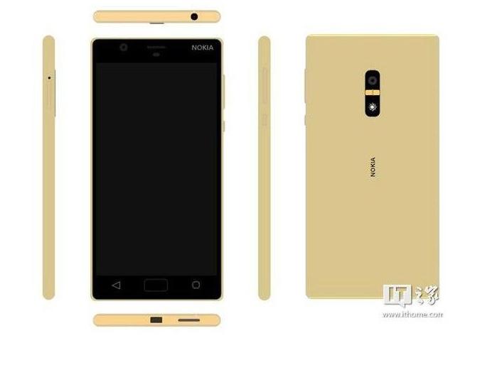Jedan od navodnih Nokia uređaja pokretanih Androidom