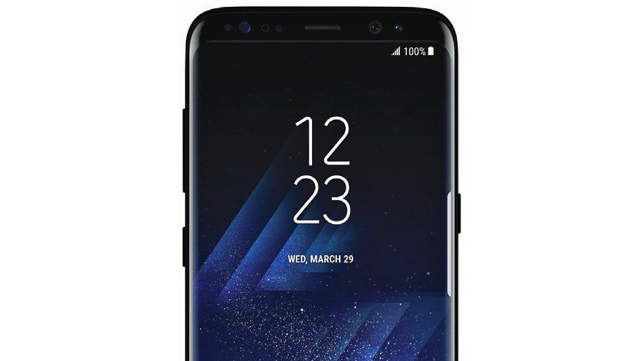 galaxy s8 prikaz