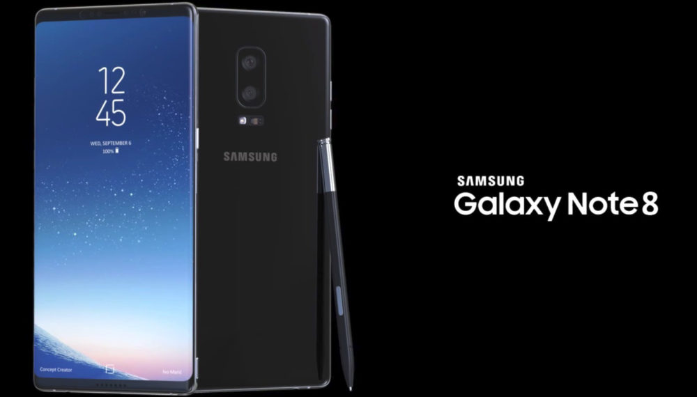 galaxy note 8 glasine