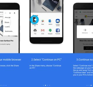 windows 10 android link